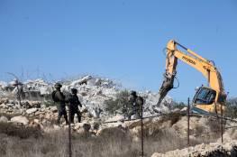 الشرطة الإسرائيلية تهدم منزلا في اللد بأراضي الـ48