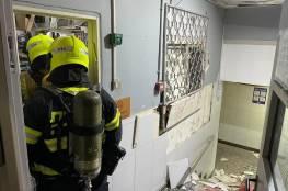صور: انفجار داخل فندق في ايلات