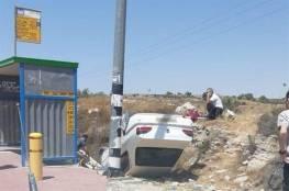 """إصابة مستوطنين بعملية دهس قرب """"غوش عتصيون"""" واستشهاد المنفذ"""