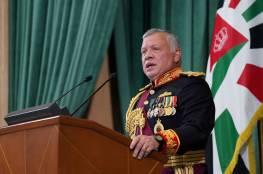 """العاهل الأردني: اتصالات مكثفة لوقف التصعيد """"الإسرائيلي"""" الخطير"""