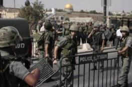 الاحتلال يُشدّد قيوده المفروضة حول المسجد الأقصى لمنع المصلّين