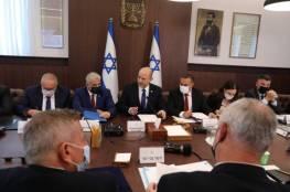 الحكومة الإسرائيلية تناقش الميزانية السنوية اليوم وتعرضها للمصادقة غدا