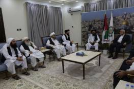 بالصور .. قناة عبرية: هنية يلتقي قادة طالبان سراً