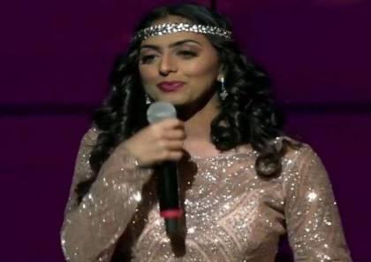 مغنية سعودية تتوج بأفضل موهبة عربية في أمريكا