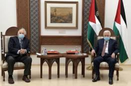 حسين الشيخ يؤكد لقاء الرئيس عباس مع حنا ناصر لتحديد موعد الإنتخابات