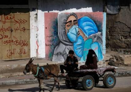 12 حالة وفاة و516 إصابة جديدة بكورونا في غزة