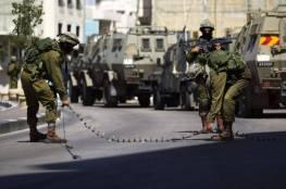 قوات الاحتلال تغلق مداخل قرية التوانة جنوب الخليل