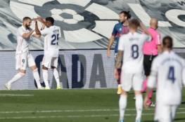 ريال مدريد يسحق هويسكا برباعية في الدوري الاسباني (فيديو)