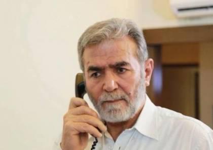 الجهاد الاسلامي تكشف تفاصيل اتصال هاتفي بين النخالة ومستشار الثورة الإيرانية..