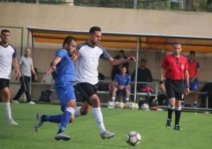 5 مباريات في دوري غزة اليوم