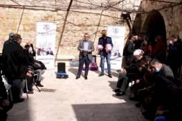 التيار الاصلاحي ينهي المرحلة الأولى من مشروع النظارات الالكترونية للمكفوفين في القدس..صور
