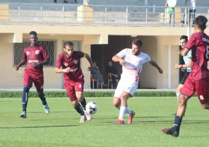 6 مباريات في دوري غزة السبت