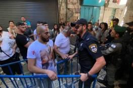 الاحتلال يعتدي على المسيحيين المحتفلين بسبت النور في القدس