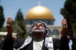 """الفلسطينيون يحيون ذكرى""""المولد النبوي"""" في المسجد الاقصى رغم سياسة التضييق"""