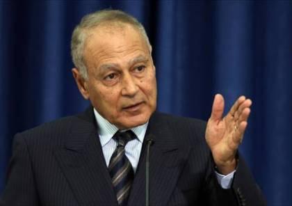 """أبو الغيط: رئيس وزاء اثيوبيا يريد أن يصبح """"رامبو"""" على العالم كله"""