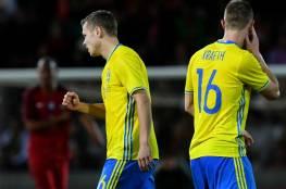 فيديو.. السويد يقلب هزيمته ويتفوق على البرتغال