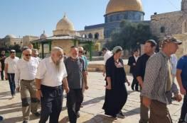457 مستوطناً يقتحمون المسجد الأقصى خلال هذ الأسبوع