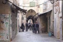 الاحتلال يغلق شوارع القدس القديمة تمهيدا لمسيرات المستوطنين ..