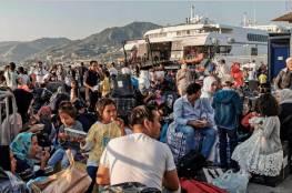 أثينا تدعو الاتحاد الأوروبي لمساعدتها في نقل المهاجرين إلى تركيا