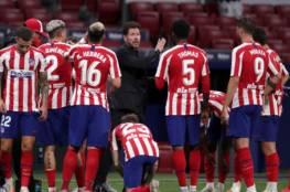 أتلتيكو مدريد يعلن إصابة نجميه بفيروس كورونا