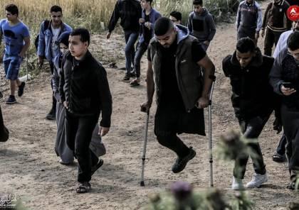 بالصور.. 42 اصابة بينها خطيرة شرق قطاع غزة