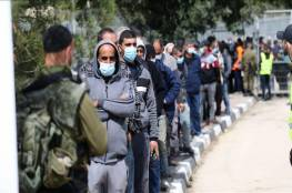 """""""إسرائيل"""" توافق على دخول 15 ألف عامل فلسطيني للعمل.. وغانتس يعلق"""