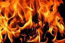 وفاة مسنة جراء حريق في مخيم شعفاط