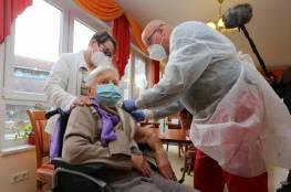 امرأة بعمر 101 عام ..أول من تلقى اللقاح بألمانيا