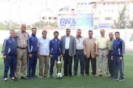 نادي الأمل يستقبل وفد من الاتحاد الفلسطيني لكرة القدم
