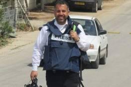 نقل الصحفي الريماوي إلى مستشفى الخليل اثر تدهور وضعه الصحي