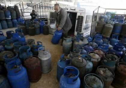 غزة: تحذير من التلاعب بأسعار الغاز وإتلاف لحوم فاسدة