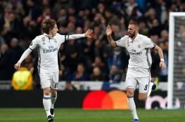 بالفيديو .. ريال مدريد يصدم نابولي بثلاثية ويقترب من ربع النهائي