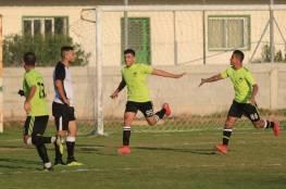 أربع مباريات في الدور التمهيدي الثاني كأس غزة