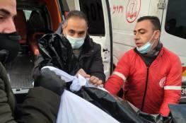 شاهد: الاحتلال يسلم جثمان الشهيد داوود الخطيب
