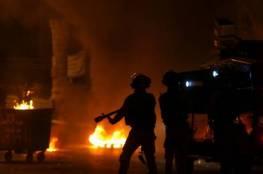 مواجهات في حيفا وشرطة الإحتلال تعتدي على الفلسطينيين في شوارع المدينة (فيديو)