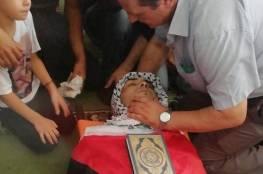 مخيم بلاطة يشيع الشهيد مرشود بعد 3 أشهر على استشهاده