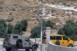 حاجز عسكري على مدخل جناتا