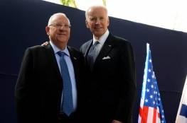 بايدن و ريفلين يبحثان الملف الإيراني واحتياجات إسرائيل الدفاعية