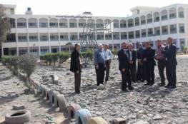 التربية والتعليم: تضرر 13 مدرسة نتيجة التصعيد على غزة