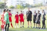 منتخبنا الوطني للناشئين يواصل تحضيراته لبطولة كأس العرب في المغرب