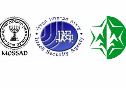 تعرف على أجهزة الاستخبارات الإسرائيلية المختلفة