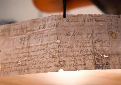 العثور على رسالة عسكرية سقطت من حمام زاجل قبل 110 أعوام