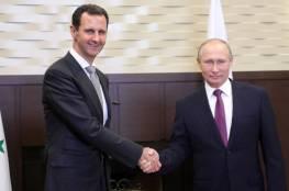 صحيفة عبرية تكشف: تل ابيب بعثت رسالة للرئيس الأسد عبر نظيره بوتين.. اليك مضمونها