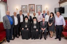 البطريرك ثيوفيلوس الثالث يترأس احتفال الذكرى المئوية لتأسيس الجمعية الخيرية الوطنية الارثوذكسية