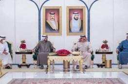 ملك البحرين يلتقي محمد بن زايد ومحمد بن راشد في أبو ظبي