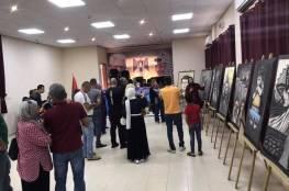 جنين: افتتاح معرض للفنانة التشكيلية ميسون سباعنة