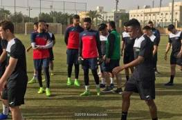 محمود سلمي يسجل في أول ظهور مع المنتخب الأولمبي