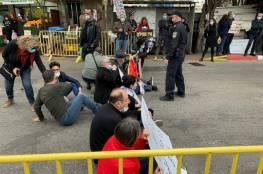 بالفيديو والصور.. الشرطة الاسرائيلية تعتدي وتعتقل متظاهرين ضد زيارة نتنياهو للناصرة