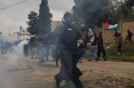 إصابة 15 مواطناً بالرصاص المطاطي في مسيرة كفر قدوم