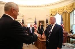 بعد لقائهما الرئيس الأمريكي .. ماذا قال غانتس ونتنياهو عن صفقة ترامب؟
